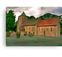 St John of Beverley Church - Salton Canvas Print