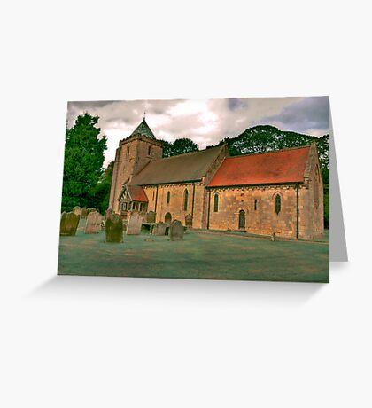 St John of Beverley Church - Salton Greeting Card