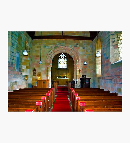 Interior of St John Church Photographic Print