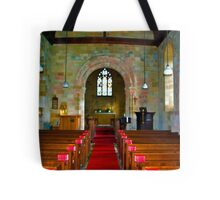 Interior of St John Church Tote Bag