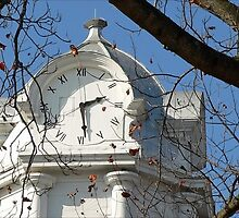The Courthouse Clock by paintingsheep