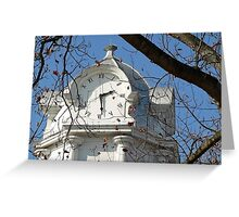 The Courthouse Clock Greeting Card