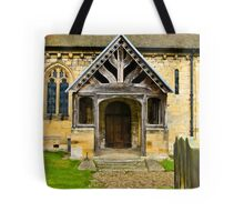 The Entrance Door St John's Church. Tote Bag