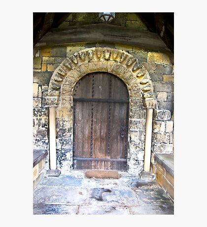Wooden Church Door Photographic Print