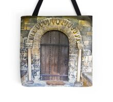 Wooden Church Door Tote Bag