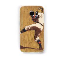 Vintage Baseball illustration Samsung Galaxy Case/Skin