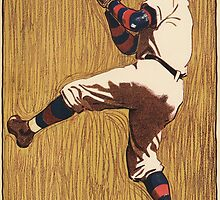 Vintage Baseball illustration by Vintage Designs