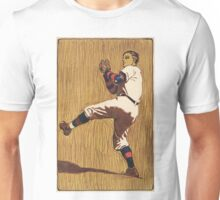 Vintage Baseball illustration Unisex T-Shirt