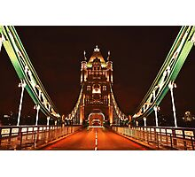 EARLY HOURS. (Tower Bridge) Photographic Print