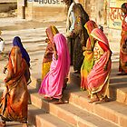 India: A Day in the Life of Varanasi #4 - The Colors of India by Neville Bulsara