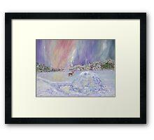 North Pole Accomodation  Framed Print