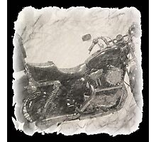 Harley Sportster Motorcycle Photographic Print