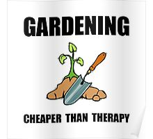 Gardening Therapy Poster