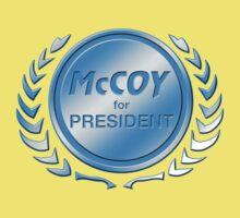 McCoy for President Kids Clothes