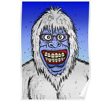 Ugly Yeti Poster