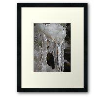 Iccicle pops.... Framed Print