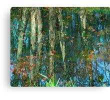 Les reflets (4) Canvas Print