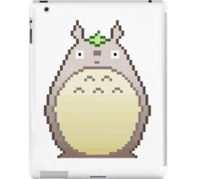 Pixel neighbor -white- iPad Case/Skin