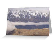 Queenstown Mountainscape Greeting Card