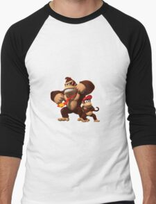 Diddy and donkey kong Men's Baseball ¾ T-Shirt