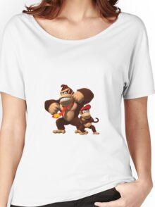 Diddy and donkey kong Women's Relaxed Fit T-Shirt