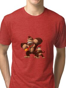Diddy and donkey kong Tri-blend T-Shirt