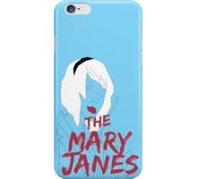 The Mary Janes: Drums iPhone Case/Skin