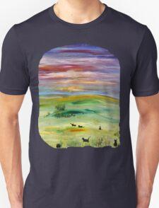 Black cats T option 2 Unisex T-Shirt