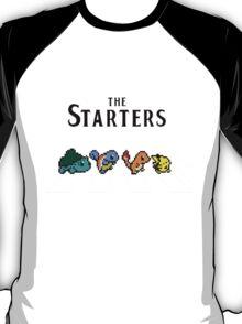 Pokemon starters - Beatles parody  T-Shirt