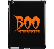 Boo Motherfucker iPad Case/Skin