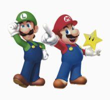 Mario and Luigi by HDPR