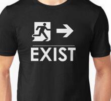 """EXIST"" Existential Signage - NoirGraphic Original  Unisex T-Shirt"