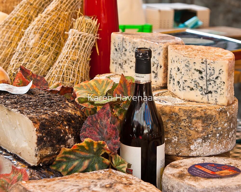 Wine & Cheese by Karen Havenaar
