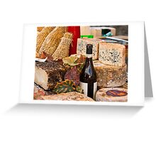 Wine & Cheese Greeting Card