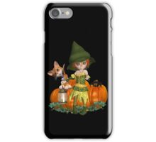 The Witch, The Cat, The Spider  iPhone Case/Skin