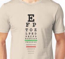 eye test Unisex T-Shirt