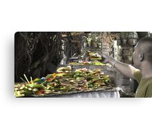 Green Offering Canvas Print