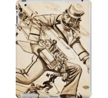 Royal Lilliputians Nothing But Fun vintage show poster iPad Case/Skin