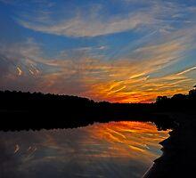 Fiery Night by Paul Gitto