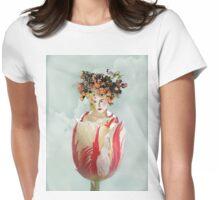 La Tulipe Womens Fitted T-Shirt