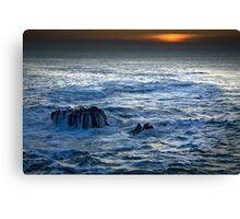 Mor Iwerddon (The Irish Sea) Canvas Print