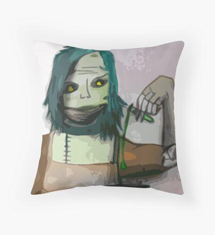 The Undead Alchemist Throw Pillow