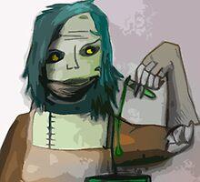 The Undead Alchemist by linzykittyart