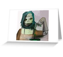 The Undead Alchemist Greeting Card