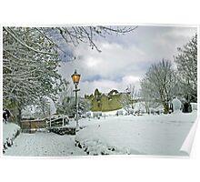 St Mary's Churchyard, Tutbury Poster
