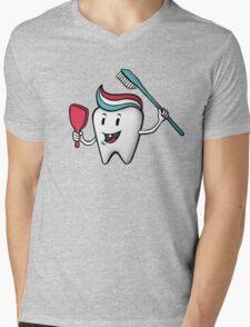 Fresh & Clean Mens V-Neck T-Shirt