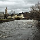 Slater Mill in Winter by Barry Doherty