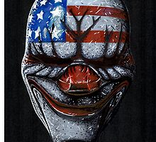 Payday 2 Dallas mask by alfie-burt