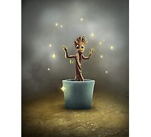 Groot Painting and Magic Dust. Photographic Print