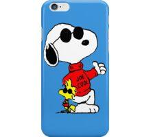 Snoopy and Woodstock Joe Cool iPhone Case/Skin